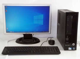 HP 3300 (i3/i5, Office 2017, Adobe Photoshop, Video Editing, Monitor, HP, Mini PC, PC, Computer