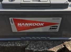 Leisure Batteries, 2 Hankook 110Ah