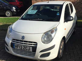 Suzuki Alto, 2013 (13) White Hatchback, Manual Petrol, 62,835 miles