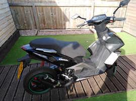 Beeline Pista 50cc LC Moped/Scooter MOT JUNE 2020 2 stroke £££££s spent on it
