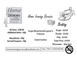 Home Ironing Service