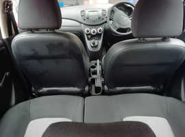 Hyundai i10, 2010 (10) Silver Hatchback, Manual Petrol, 46,288 miles