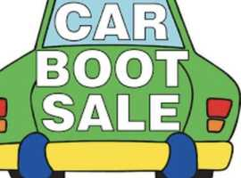 WEDNESDAY LATE AFTERNOON AND SATURDAY AFTERNOON CAR BOOT SALE