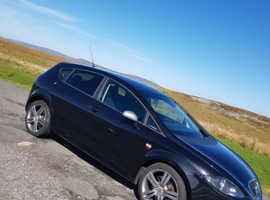 Seat Leon, 2007 (56) Black Hatchback, Manual Diesel, 118,330 miles