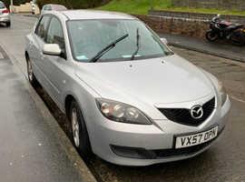 Mazda MAZDA 3, 2007 (57) Silver Hatchback, Manual Petrol, 113,000 miles