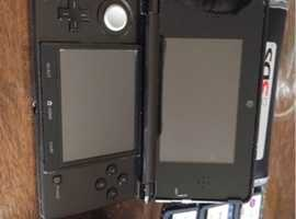 Nintendo 3DS 3D with games like new
