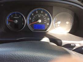 Hyundai Santa Fe, 2007 (57) Black Estate, Manual Diesel, 70,500 miles