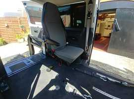 Volkswagen T5 Automatic wheelchair passenger or driver adapted vehicle by Lewis Reed, full history, remote lift and tailgate