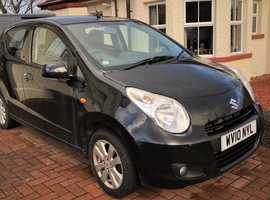Suzuki Alto SZ4 1.0 (2010 10 Plate), finished in Black with Cloth Upholstery