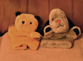 sooty and sweep hand pupets
