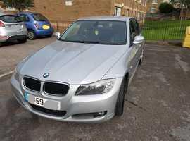 BMW 3 Series, 2009 (59) Silver Saloon, Manual Petrol, 87,000 miles