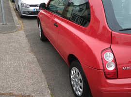 Nissan Micra, 2009 (59) Red Saloon, Manual Petrol, 1 miles