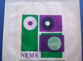 "WANTED: 1960's RECORD SHOP PAPER BAG FOR 7"" SINGLE."