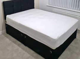 Brand New Double Size Bed And Top Quality Of Mattress