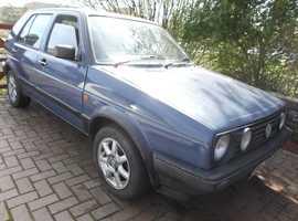 Rare VW MK 2 Golf Driver, 1.8, 5 door hatchback, Automatic, 92338 miles.