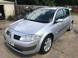 Renault Megane, 2005 (05) Silver Hatchback, Manual Diesel, 158,000 miles, Full MOT Supplied