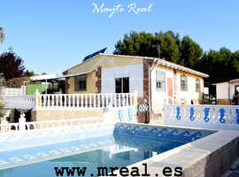 REF. H0045 -VILLA FOR SALE, LES MALLAES-PEDRALBA (VALENCIA)