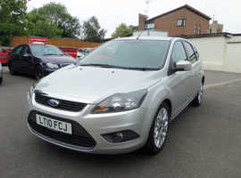 Ford Focus, 2010 (10) Silver Hatchback, Manual Petrol, 64,000 miles