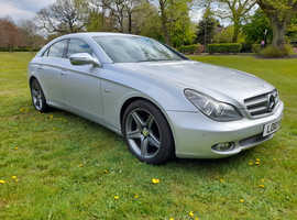 Mercedes ClS, 2010 (10) Silver Coupe, Automatic Diesel, 80,200. Reluctant And Genuine Reason For Sale.