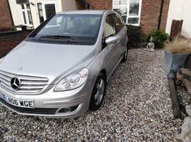 1 owner ....Mercedes B-CLASS, 2006 (06) Silver MPV, Cvt Petrol, 104,433 miles
