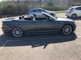 BMW 3 Series, 2005 (55) Grey Convertible, Manual Petrol, 106,000 miles