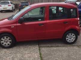 Fiat Panda, 2010 (10) Red Hatchback, Manual Petrol, 69941 miles