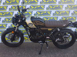 Lexmoto Tempest 125cc EFI Classic Retro Learner Legal Ride at 17 BRAND NEW