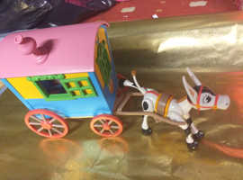 Muffin the mule 1990s toy rare..