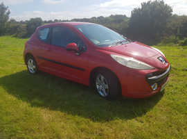 Peugeot 207, 2006 (56) Red Hatchback, Manual Petrol, 118,000 miles