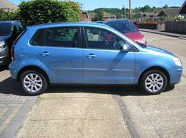 (06-07) VW POLO 1.4 SE AUTO MET/BLUE 5 DOOR MOT FEB 2021 (ONE OWNER 83000 MILES FSH 11 STAMPS IN BOOK)