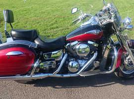 Kawasaki VN1500 classic tourer - not Harley