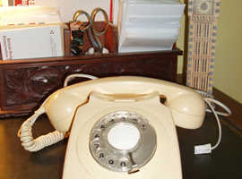 TELEPHONE RETRO VINTAGE GPO/PT IVORY TELEPHONE
