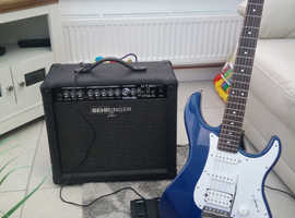 Behringer 30 watt amp with or without Yamaha Pacifica guitar