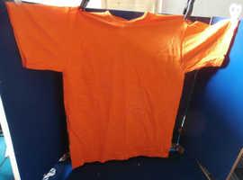 9 Children's Orange T-Shirts