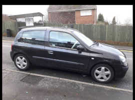 Renault Clio, 2003 (03) Black Hatchback, Manual Petrol, 53,00 miles
