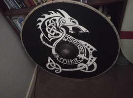 Large Viking battle shield