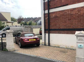 Driveway and front of garage space- Upper Belmont Rd, Bristol