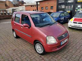 Vauxhall Agila, 2000 (W) Red Hatchback, Manual Petrol, 119,110 miles