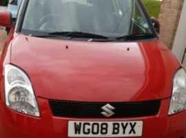 Suzuki Swift, 2008 (08), Manual Petrol, 60,000 miles