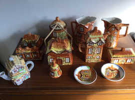 Collection Price Cottage Ware vintage china - Eleven pieces