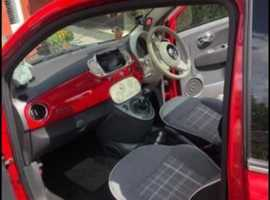 Fiat 500, 2015 (65) Red Hatchback, Manual Petrol, 52,222 miles