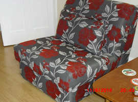 FOR SALE: SINGLE UPHOLSTERED CHAIR BED EXCELLENT CONDITION £300.00 ONO FY1 AREA