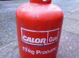 13kg Calor Propane Gas Bottle FULL