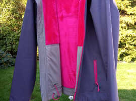 North Face Softshell Fleece Lined Jacket