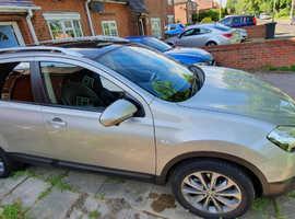 Nissan Qashqai +2, 1.6L dCi Tekna 2012 (62) Manual, Diesel, 56,400 miles, 7 Seater, Panoramic glass roof, 360 cam, Sat Nav, BOSE audio, 5dr