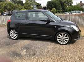 Suzuki Swift, 2008 (58) Black Hatchback, Manual Petrol, 86,129 miles. Bedford town.