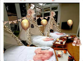 Special occasion? Hire a teepee