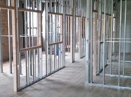 Metal partitioning Leeds | Next Level Plastering