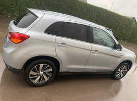 Mitsubishi Asx, 2014 (64) Silver Hatchback, Manual Petrol, 47,000 miles