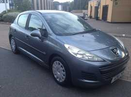 *FREE YEARLY ROAD TAX*PEUGEOT 207 1.6 HDI 2010 ONE OWNER FROM NEW 60 MILES PER GALLON 8 MONTHS MOT